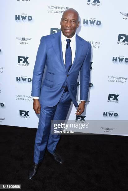 John Singleton attends FX and Vanity Fair Emmy Celebration at Craft on September 16 2017 in Century City California