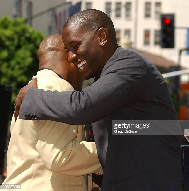 John Singleton Tyrese during Director John Singleton Honored with a Star on the Hollywood Walk of Fame for His Achievements in Film at Hollywood Blvd...