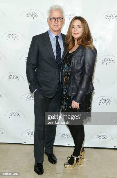 John Slattery and Talia Balsam attend 2012 New York Stage And Film Winter Gala at The Plaza Hotel on December 9 2012 in New York City
