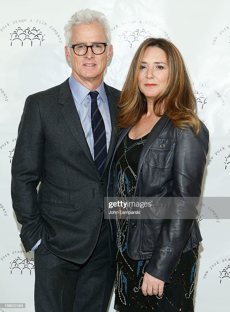 <a gi-track='captionPersonalityLinkClicked' href=/galleries/search?phrase=John+Slattery&family=editorial&specificpeople=857095 ng-click='$event.stopPropagation()'>John Slattery</a> and <a gi-track='captionPersonalityLinkClicked' href=/galleries/search?phrase=Talia+Balsam&family=editorial&specificpeople=857309 ng-click='$event.stopPropagation()'>Talia Balsam</a> attend 2012 New York Stage And Film Winter Gala at The Plaza Hotel on December 9, 2012 in New York City.