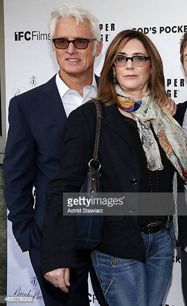 John Slattery and Talia Balsam attend 'God's Pocket' screening at IFC Center on May 4 2014 in New York City