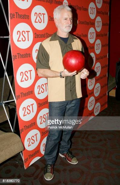 John Slattery attend Second Stage Theatre's 23rd Annual AllStar Bowling Classic at Lucky Strike Lanes Lounge on February 8th 2010 in New York City