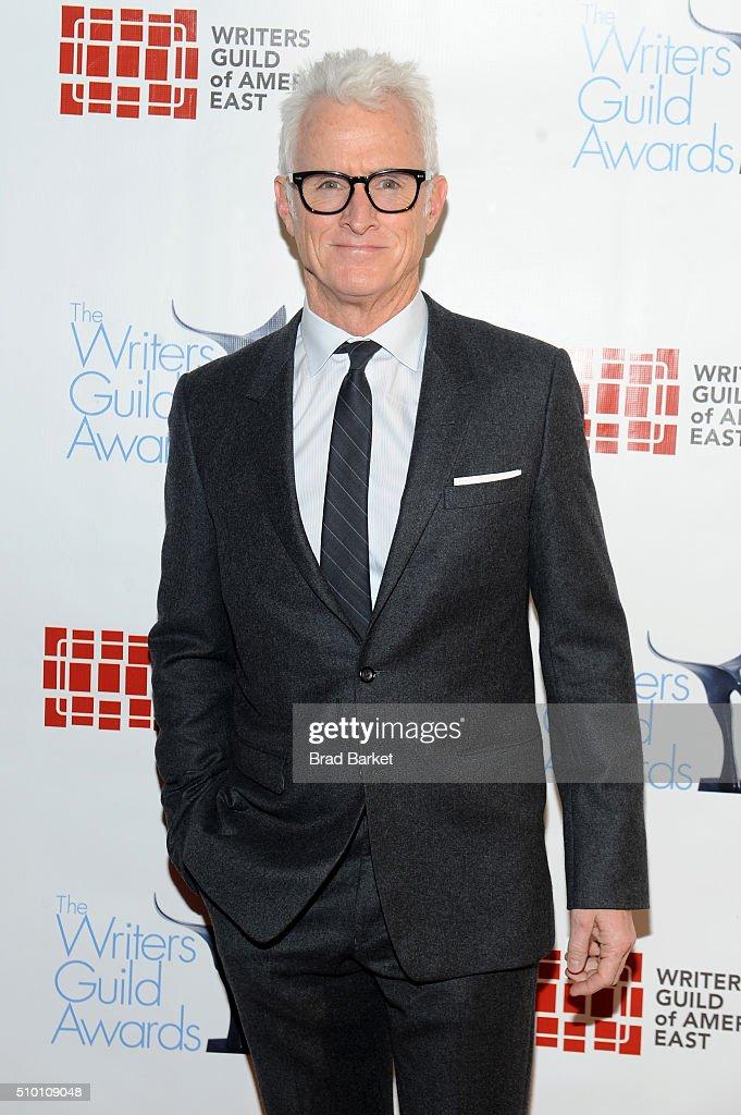 John Slattery attends 2016 Writers Guild Awards New York Ceremony the Edison Ballroom on February 13, 2016 in New York City.