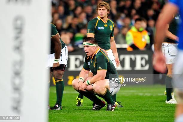 John SMIT Afrique du Sud / Namibie Coupe du Monde de Rugby 2011