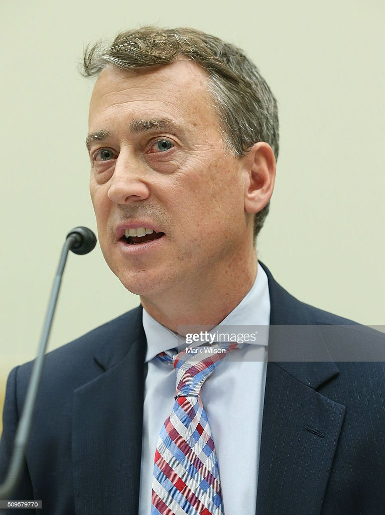 John Smith, acting director of the Treasury Department's Office of Foreign Assets Control, testifies during a House Foreign Affairs Committee hearing on Capitol Hill, February 11, 2016 in Washington, DC. The committee heard testimony on the Iran Nuclear deal oversight and consequences.