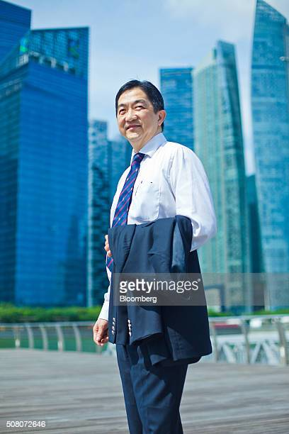 John Soh Chee Wen a Malaysian businessman poses for a photograph in Singapore on Sunday Jan 31 2016 Soh who was last week fingered by Singapore...