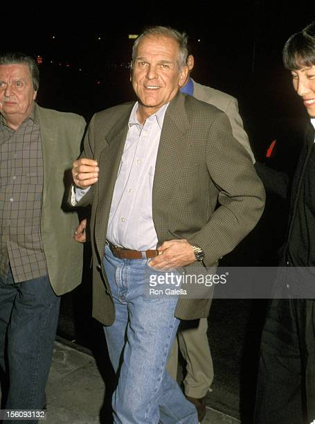 John Spencer during NBC Primetime Upfront Party May 15 2000 at Ruby Foo's in New York City New York United States