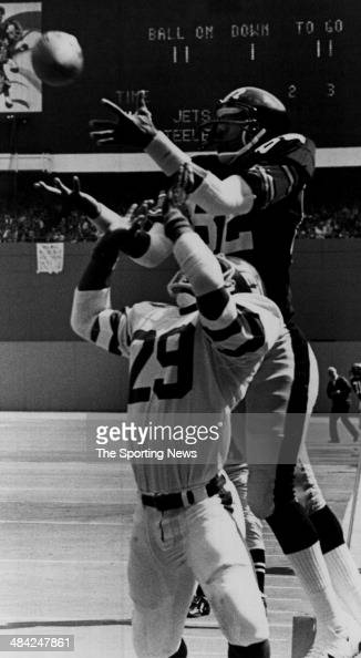 John Stallworth of the Pittsburgh Steelers goes up for a catch circa 1970s