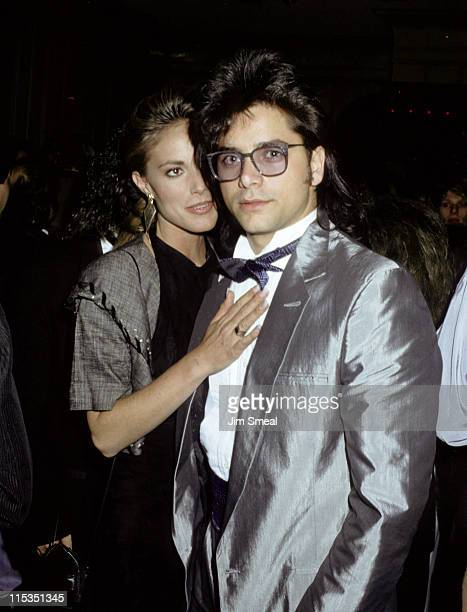 John Stamos and guest during 15th Annual American Music Awards January 251988 at Shrine Auditorium in Los Angeles California United States