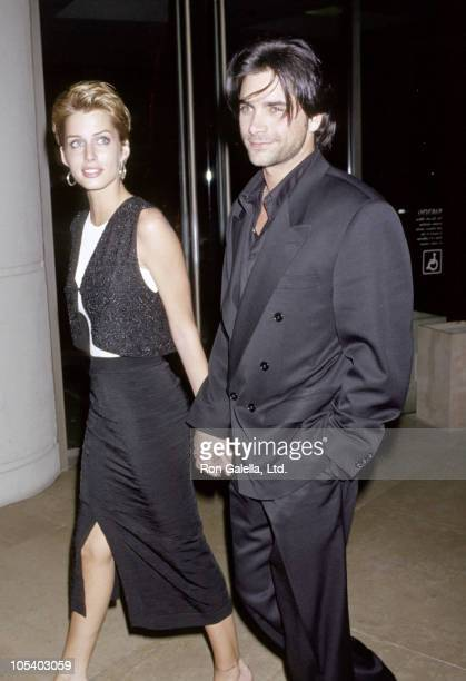 John Stamos and Julie Anderson during 1994 Ambbassador of Hope Awards at The Beverly Hilton Hotel in Beverly Hills California United States