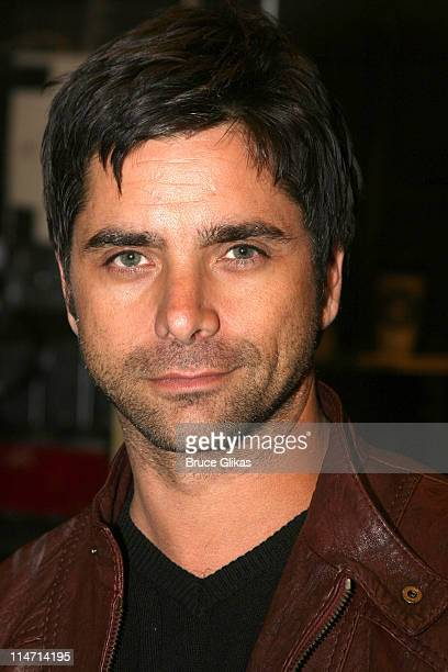 John Stamos during John Stamos Visits 'Mary Poppins' on Broadway May 19 2007 at The New Amsterdam Theatre in New York City New York United States