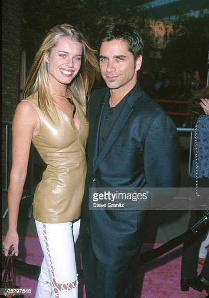 John Stamos Rebecca RomijnStamos during 'Austin Powers The Spy Who Shagged Me' Los Angeles Premiere at Universal Amphitheatre in Universal City...