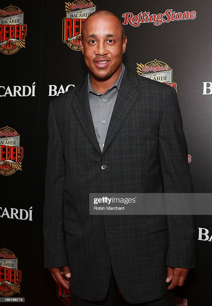 <a gi-track='captionPersonalityLinkClicked' href=/galleries/search?phrase=John+Starks&family=editorial&specificpeople=211118 ng-click='$event.stopPropagation()'>John Starks</a> attends Inaugural Bacardi Rebels event hosted by Rolling Stone at Roseland Ballroom on May 20, 2013 in New York City.
