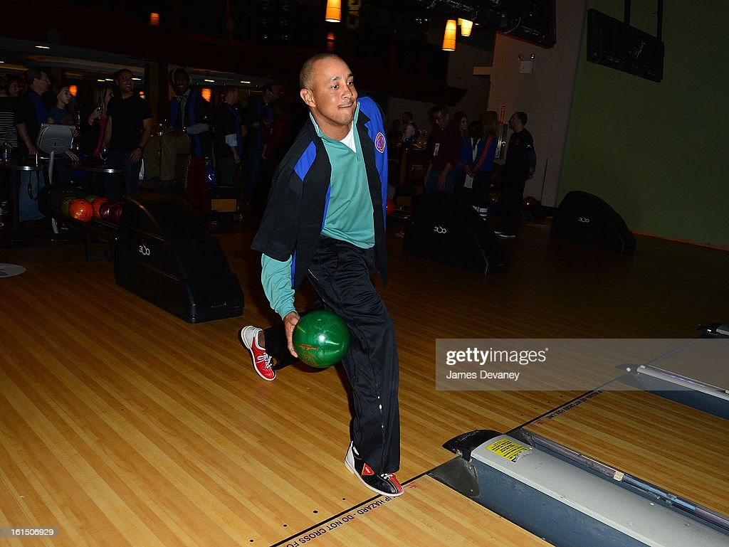 <a gi-track='captionPersonalityLinkClicked' href=/galleries/search?phrase=John+Starks&family=editorial&specificpeople=211118 ng-click='$event.stopPropagation()'>John Starks</a> attends the 14th Annual Knicks Bowl at Chelsea Piers on February 11, 2013 in New York City.