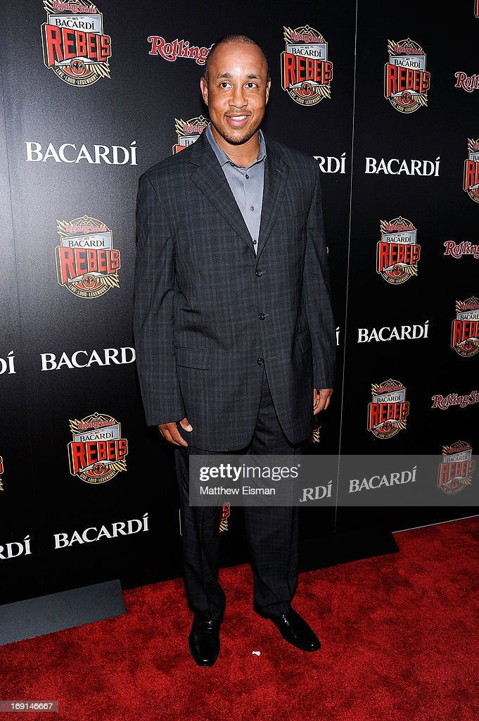 <a gi-track='captionPersonalityLinkClicked' href=/galleries/search?phrase=John+Starks&family=editorial&specificpeople=211118 ng-click='$event.stopPropagation()'>John Starks</a> attends the 2013 Bacardi Rebels event hosted by Rolling Stone at Roseland Ballroom on May 20, 2013 in New York City.