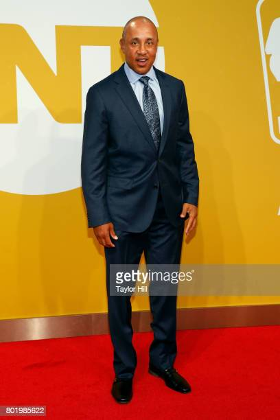 John Starks attends the 2017 NBA Awards at Basketball City Pier 36 South Street on June 26 2017 in New York City