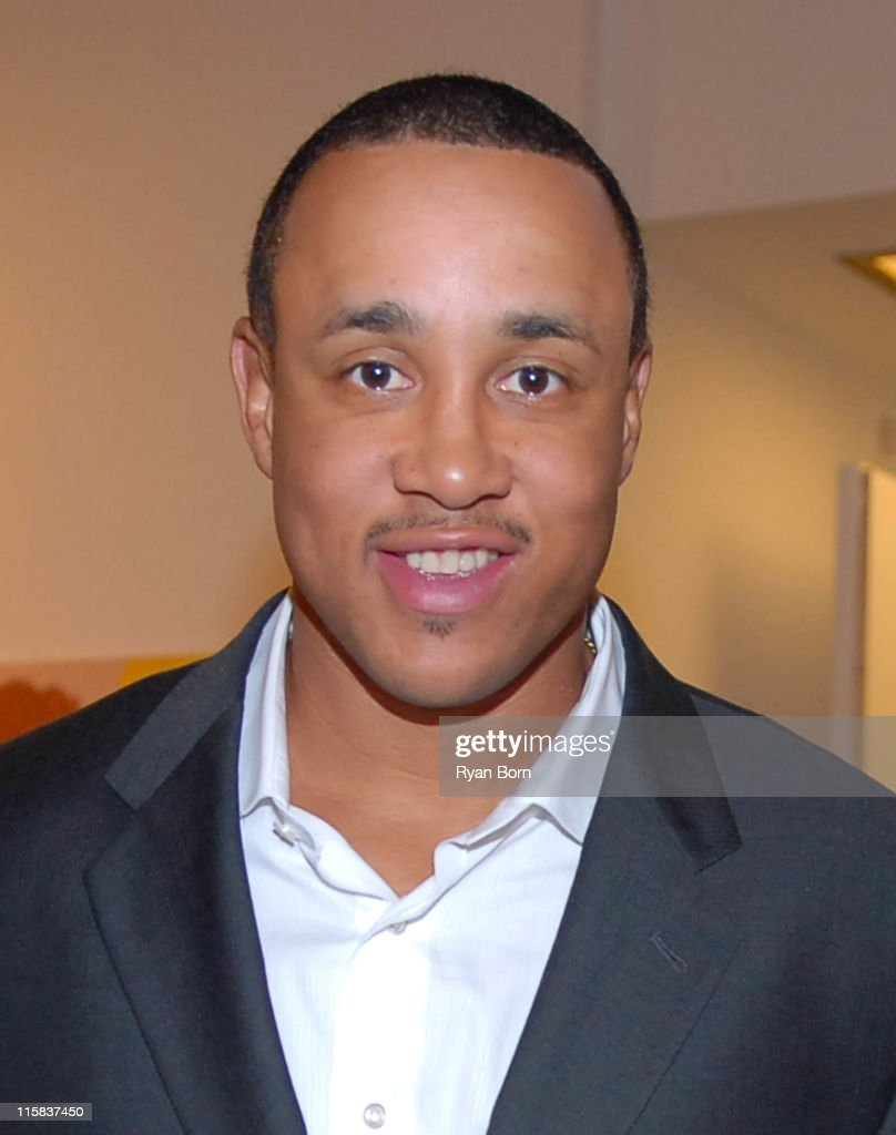 John Starks during Benefit for the Laureus Sport for Good Foundation USA at McEnroe Gallery in New York City, New York, United States.
