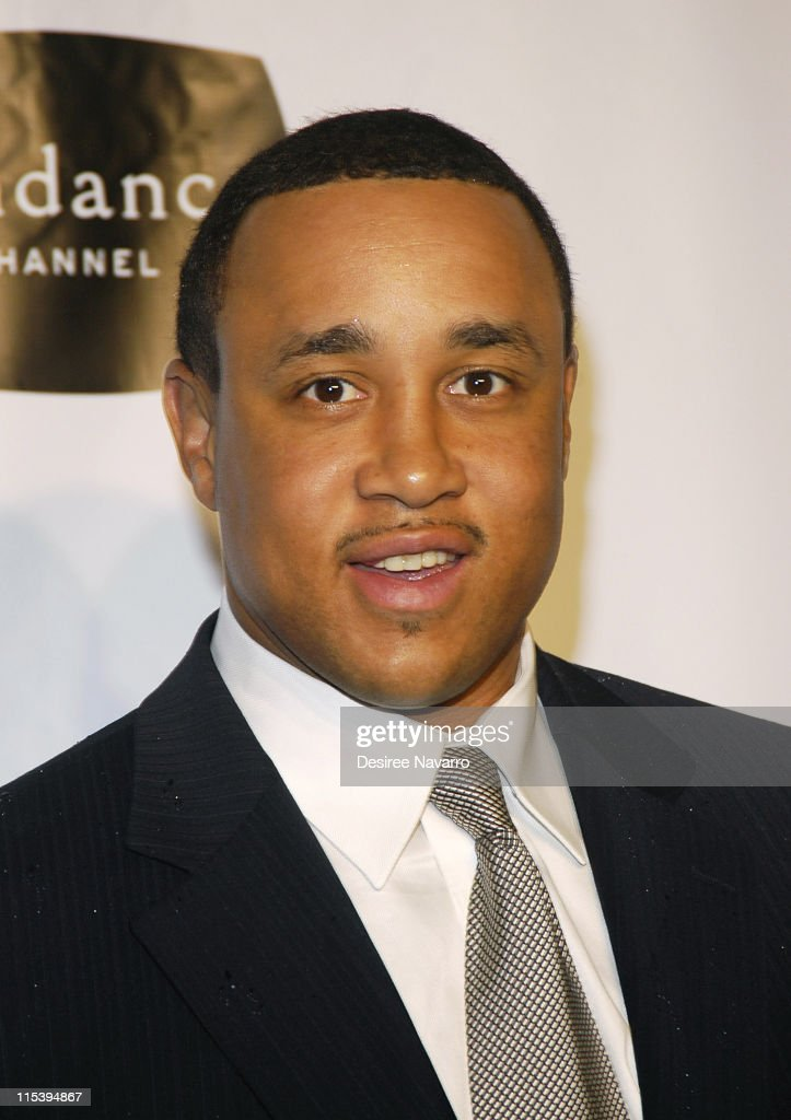 <a gi-track='captionPersonalityLinkClicked' href=/galleries/search?phrase=John+Starks&family=editorial&specificpeople=211118 ng-click='$event.stopPropagation()'>John Starks</a> during 'Iconoclasts' New York City Premiere at Helen Mills Theater in New York City, New York, United States.