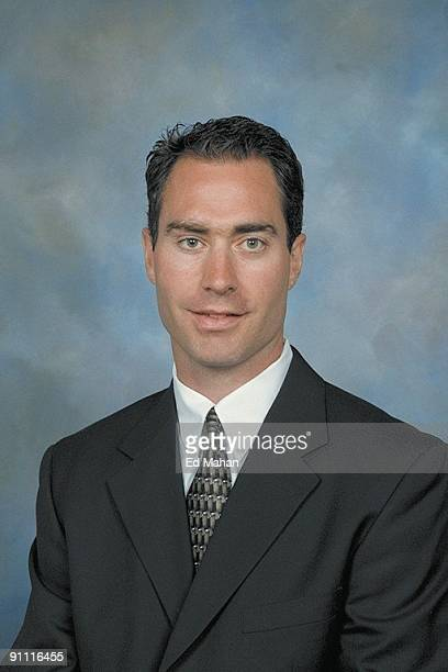 John Stevens of the Philadelphia Flyers poses for his official headshot for the 20092010 NHL season