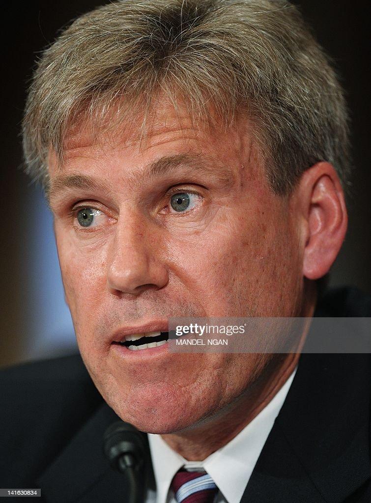 <b>John Stevens</b> testifies before the Senate Foreign Relations Committee on his ... - john-stevens-testifies-before-the-senate-foreign-relations-committee-picture-id141630834