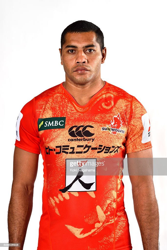 John Stewart poses during the Sunwolves 2016 Super Rugby headshots session on February 11, 2016 in Tokyo, Japan.