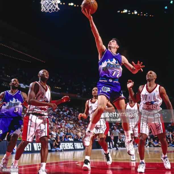 Houston Rockets Vs Utah Jazz: John Stockton Stock Photos And Pictures