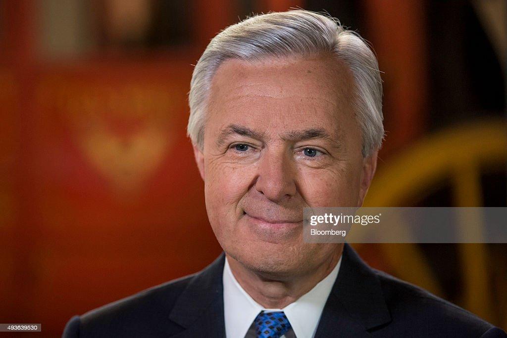 Wells Fargo & Co. Chief Executive Officer John Stumpf Interview