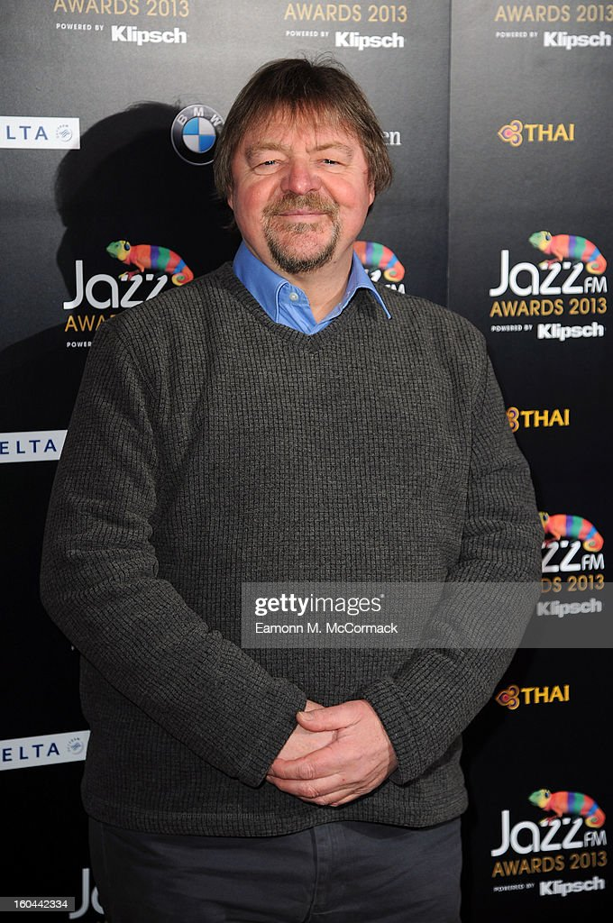 John Surman attends the Jazz FM Awards at One Marylebone on January 31, 2013 in London, England.