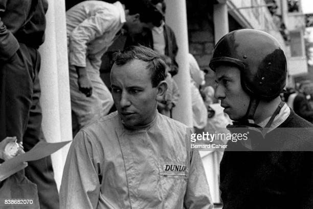 John Surtees Jim Clark Grand Prix of France RouenLesEssarts 28 June 1964