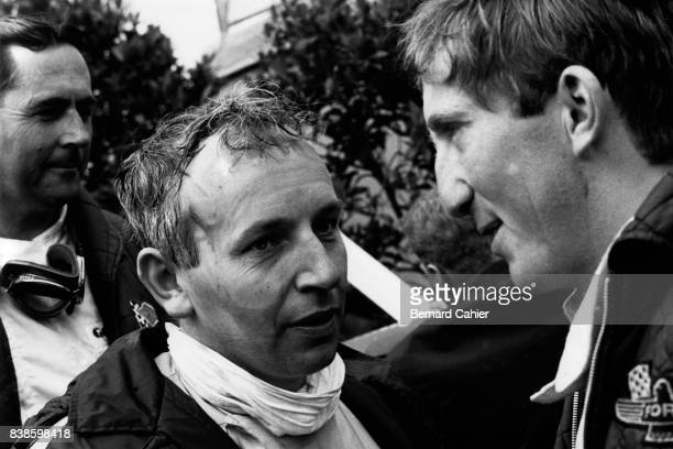John Surtees Jochen Rindt Jack Brabham Grand Prix of Germany Nurburgring 07 August 1966