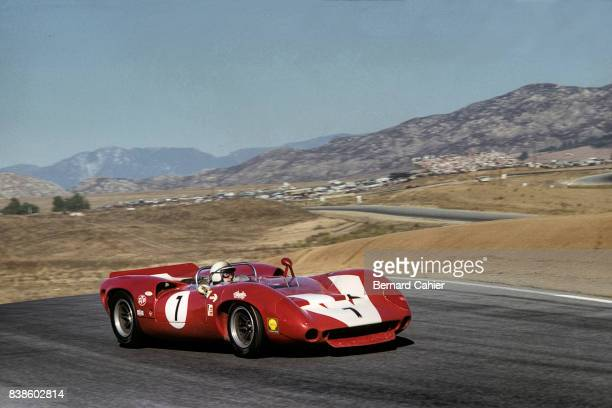 John Surtees LolaChevrolet T70 Mk2 Los Angeles Times Grand Prix CanAm Riverside 30 October 1966