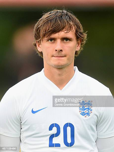 John Swift of England during the International Under 20 Tournament match between U20 Netherlands and U20 England at Sportpark Skoatterswald on...