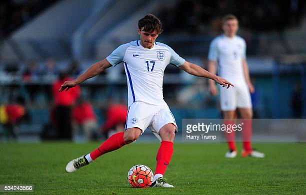 John Swift of England during the Toulon Tournament match between England and Guinea at Stade De Lattre on May 23 2016 in Aubagne France