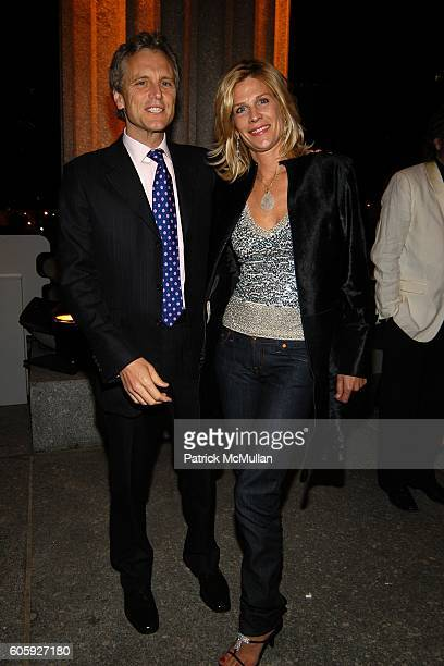John Sykes and Laurie Sykes attend VANITY FAIR Tribeca Film Festival Party hosted by Graydon Carter and Robert DeNiro at The State Supreme Courthouse...