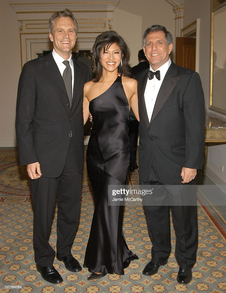 John Sykes Julie Chen and Les Moonves at amfAR's New York Gala to Honor Patti LaBelle Sumner Redstone and Peter Dolan