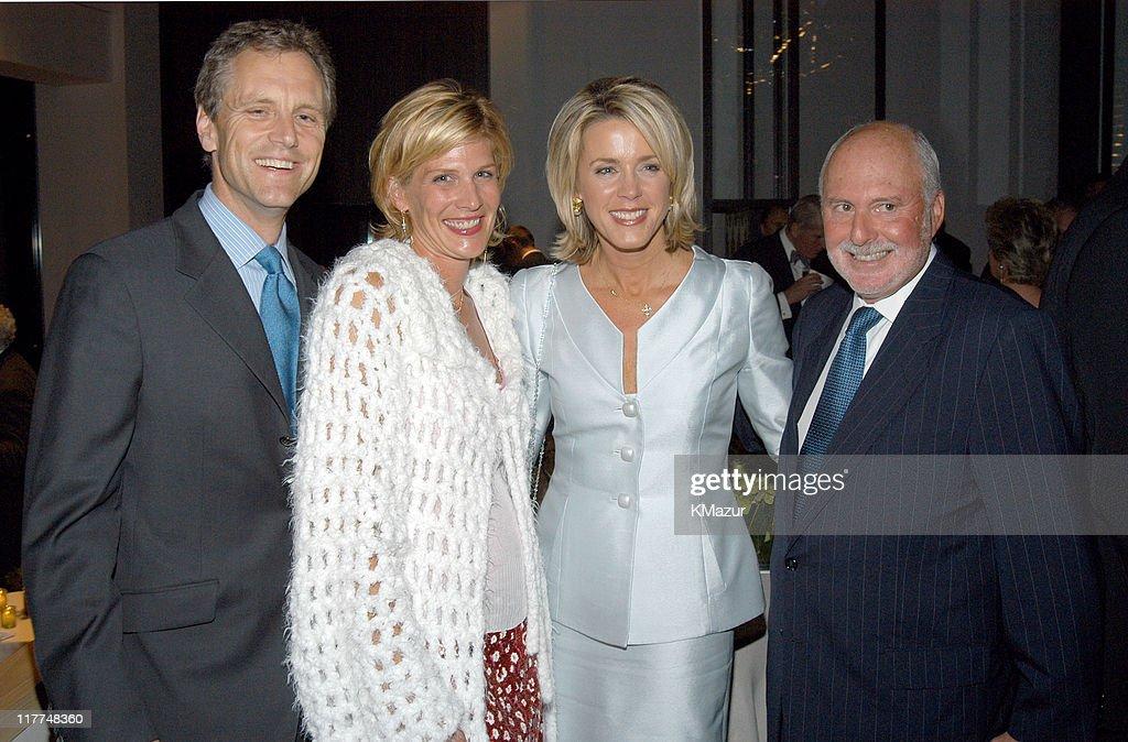 John Sykes Laurie Sykes Deborah Norville and Michael Lynne