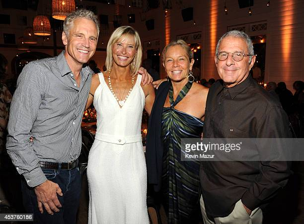 John Sykes Sonia Jones and Ron Meyer attends Apollo in the Hamptons at The Creeks on August 16 2014 in East Hampton New York