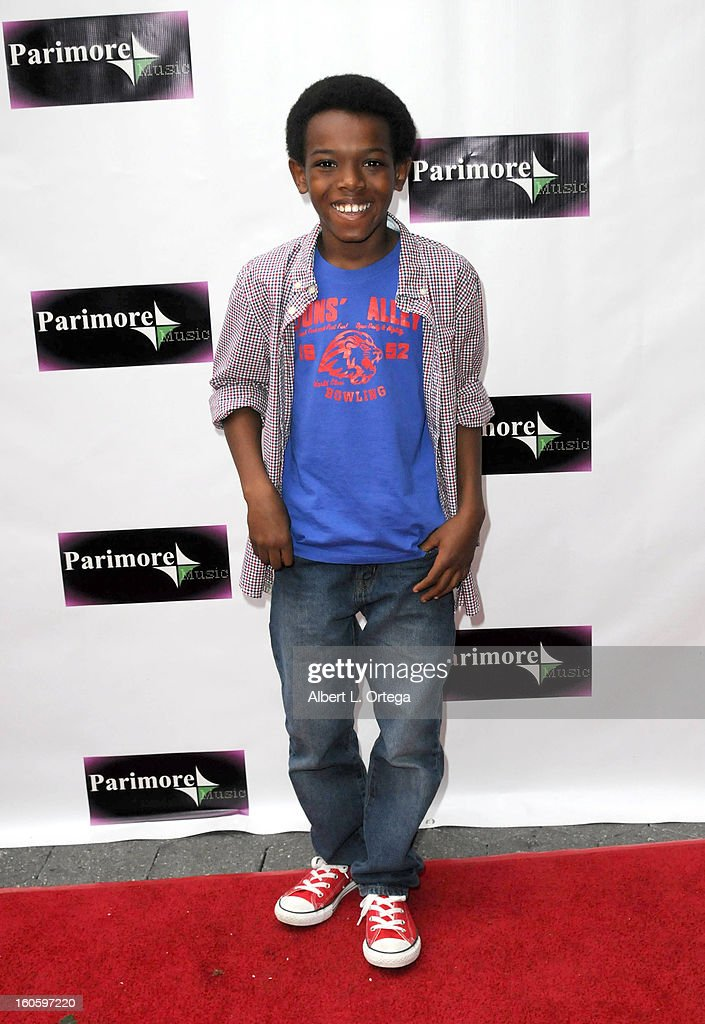 John Tae Lipscomb arrives for the All Ages Valentine Bash 2013 held at Infusion Lounge on February 2, 2013 in Universal City, California.