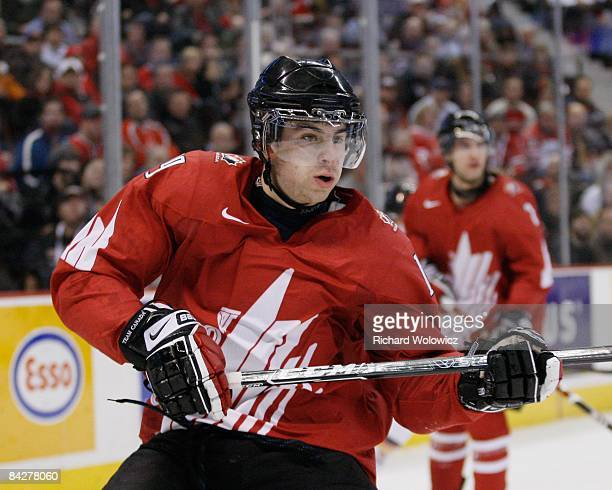 John Tavares of Team Canada skates during the game against Team Germany at the IIHF World Junior Championships at Scotiabank Place on December 29...