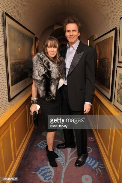 S SALES John Taylor and his wife Gela Nash Taylor attend a private dinner for Brioni hosted by Bryan Ferry at Annabel's on October 14 2009 in London...