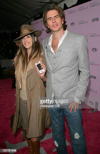 John Taylor of Duran Duran and wife Gela Nash of Juicy Couture