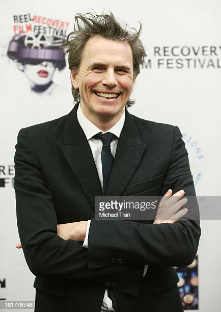John Taylor of Duran Duran arrives at the Writers In Treatment's 4th Annual Experience Strength And Hope Awards held at Skirball Cultural Center on...