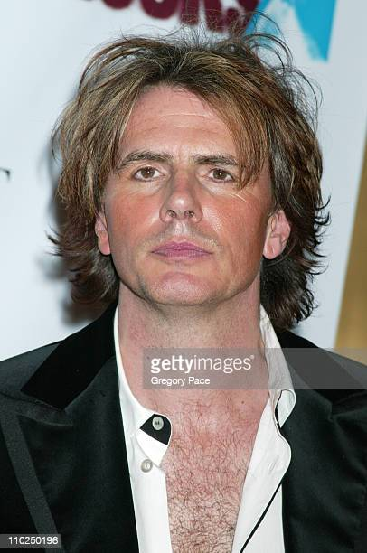 John Taylor of Duran Duran during 2005 Fashion Rocks Red Carpet Arrivals at Radio City Music Hall in New York City New York United States