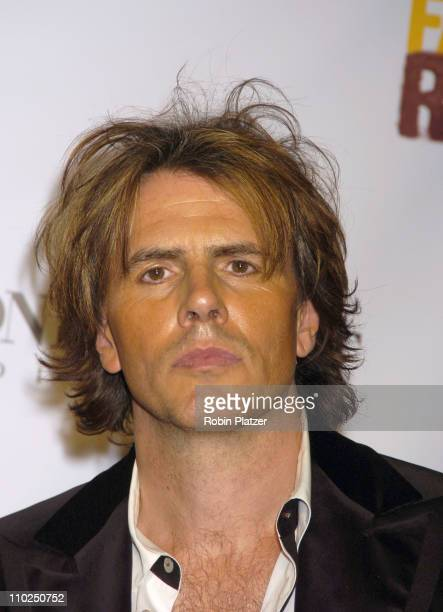 John Taylor of Duran Duran during 2005 Fashion Rocks Red Carpet at Radio City Music Hall in New York City New York United States