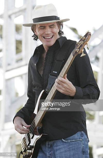 John Taylor of Duran Duran during Alice 973 Radio's Now Zen 2005 at Sharon Meadow in Golden Gate Park in San Francisco California United States