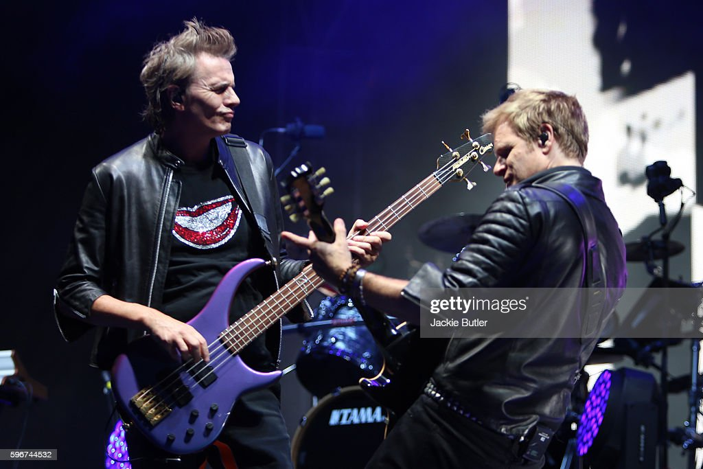 John Taylor of Duran Duran performs during MusicFest NW presents Project Pabst at Tom McCall Waterfront Park on August 27 2016 in Portland Oregon