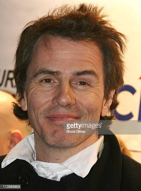 John Taylor of Duran Duran poses at Duran Duran's 'Red Carpet Massacre' Opening Night on Broadway at Ethel Barrymore Theater on November 2 2007 in...