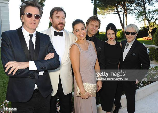 John Taylor Simon Le Bon Gisella Taylor Roger Taylor Nefer Suvio and Nick Rhodes attend amfAR's 20th Annual Cinema Against AIDS during The 66th...