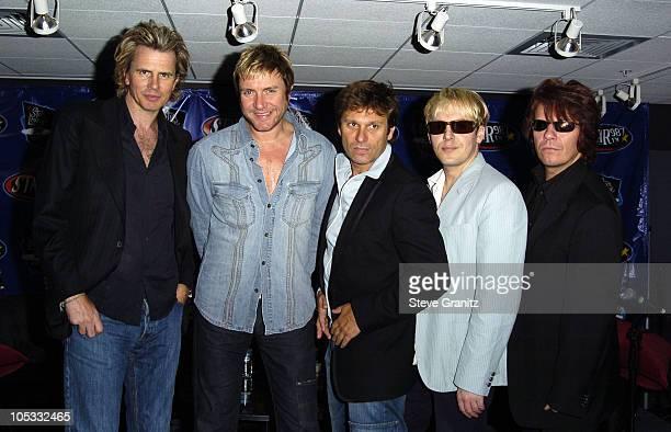 John Taylor Simon Le Bon Roger Taylor Nick Rhodes and Andy Taylor of Duran Duran