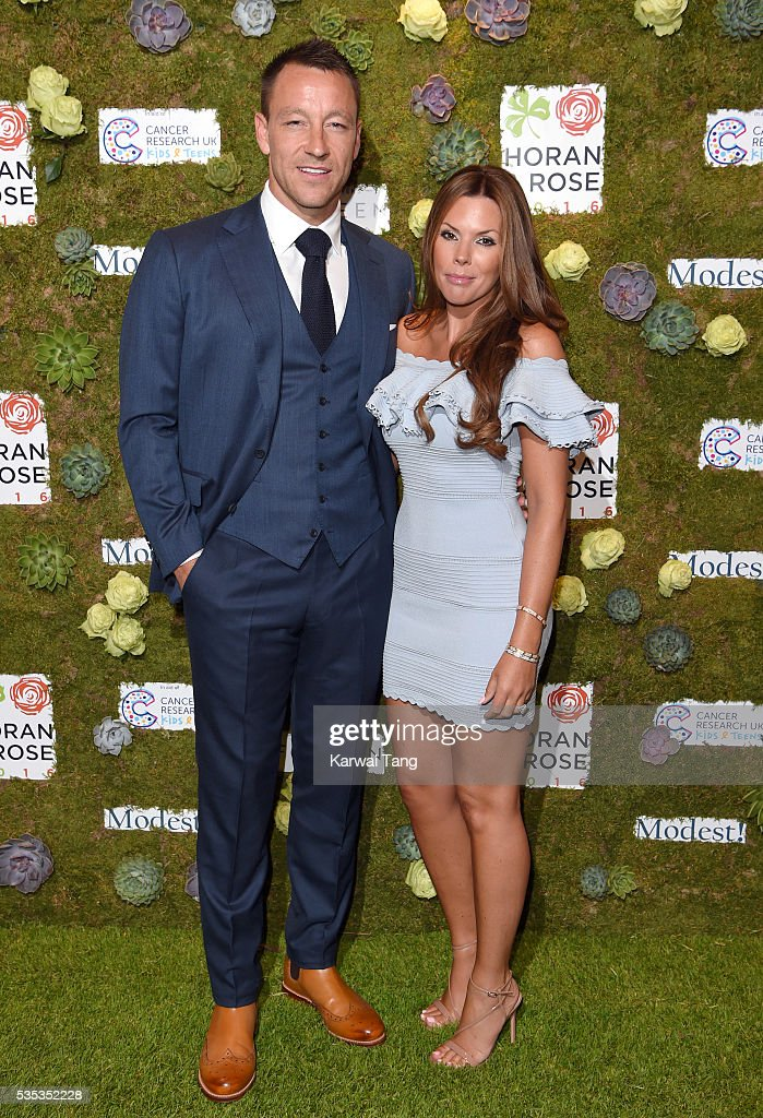 John Terry and wife Toni arrive for The Horan And Rose event at The Grove on May 29, 2016 in Watford, England.
